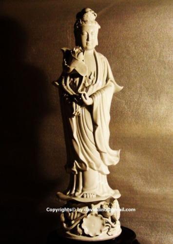 Goddess Of MerCy (Kuan Yin) PorCeLain TRaDe E-ScooTer !