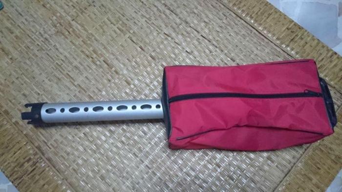Golf Ball Picker and Range Holder and Range Bag