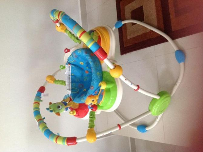 Good as new Bright Stars exersaucer