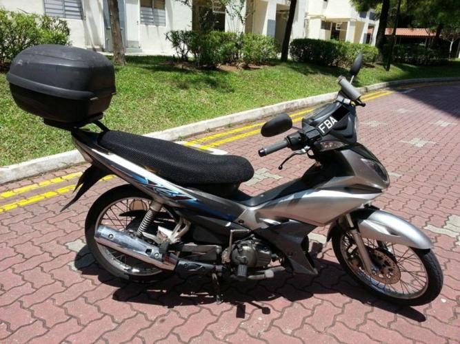 Good Condition Silver Yamaha X1- Coe till Oct 2016