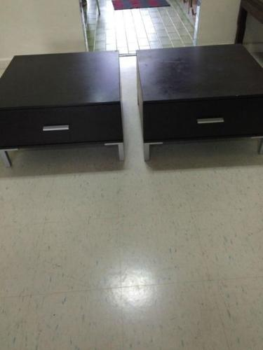 Good Quality Japanese Style Side Tables (Pair of 2)