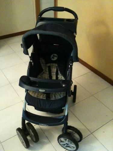 Graco baby stroller with car-basinet