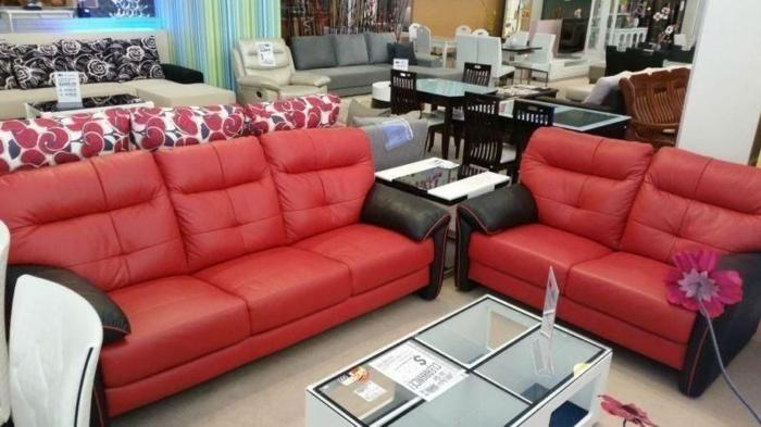 GREAT OFFER! 3+2 seater cow leather sofa for sale! Like