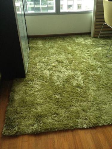 Green carpet 210 x 230cm