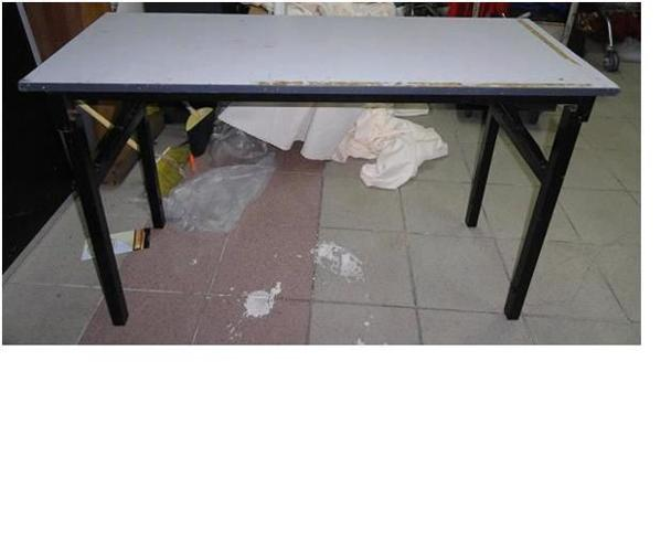 GREY RECTANGLE TABLE