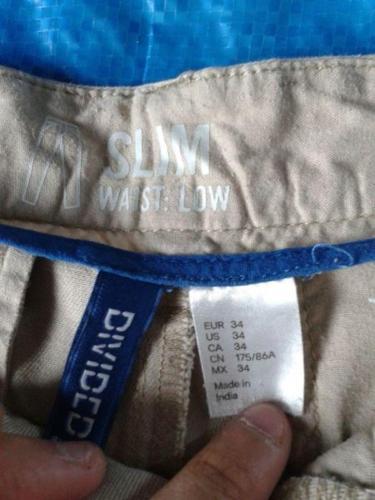 H&M Men's Kaki Pants Size 34