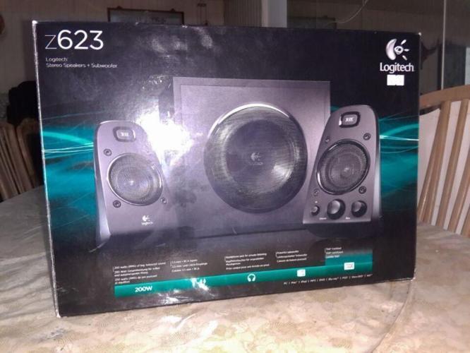 Half-price sale Logitech z623 speakers..