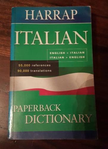 Harrap Italian Dictionary