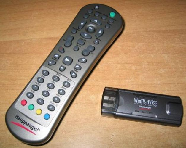 Hauppauge WinTV-HVR-900 hybrid TV stick - use laptop to