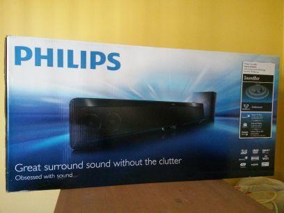 HD 3D PHILIPS BLUE RAY SOUNDBAR PLAYER