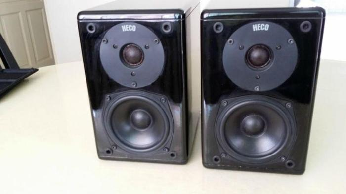 FS Heco Onyx 10 Bookshelf Speakers German