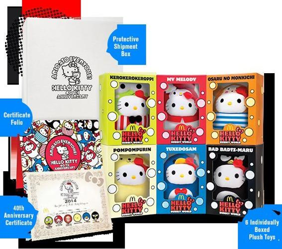 Hello Kitty Bubbly World 2014 with meal