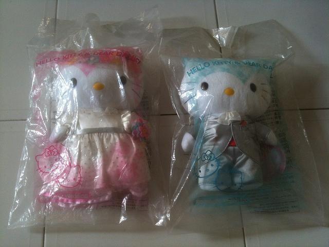Hello Kitty & Dear Daniel Dolls (Romantic Wedding)