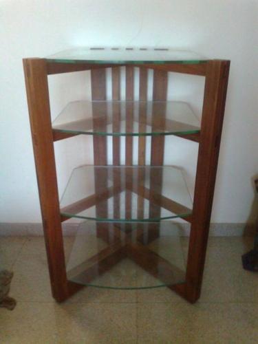 hifiamplifierstand-wood+glasstop