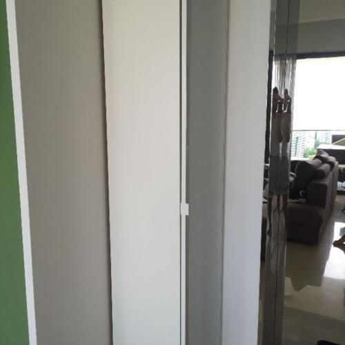 High Quality IKEA Pax Shoe Rack with glass door