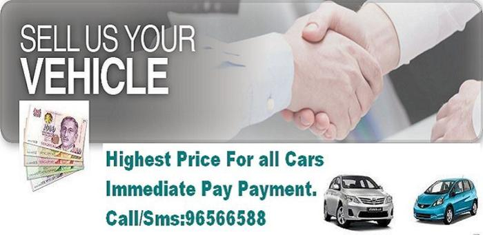 Highest Price For All Cars ,Immediate Cash Payment Call