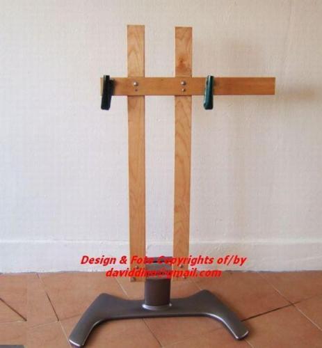 ~~~ HoME MaDe DIY BiCyCLe Display / RePaiR RacK OnLy
