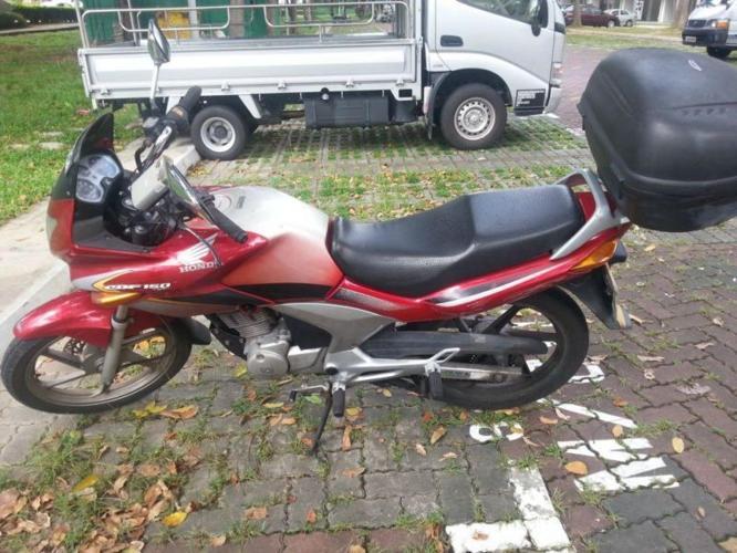 Honda CBF 150. COE till 18 Feb 2019. In good condition,
