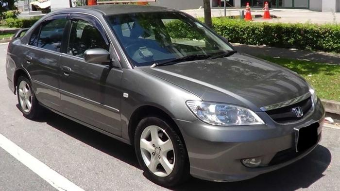 Honda Civic 1.6A for rent, leasing. No deposit