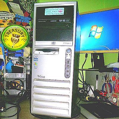 HP Compaq dc7100 Intel 3GHz Windows XP Workstation