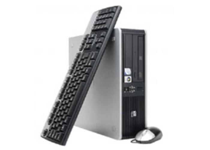 HP Desktop CPU with HP onsite warranty.