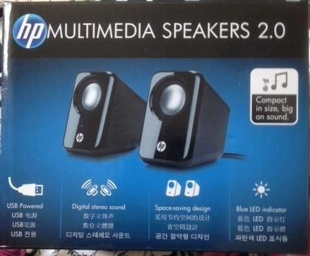 HP Multimedia Speakers 2.0 for PC