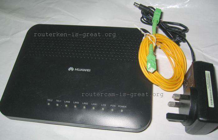 Huawei HG8240 Fiber Broadband ONT modem/gateway terminal unit for