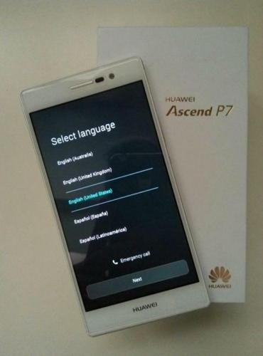 Huawei P7 White Full Box (Excellent used condition)
