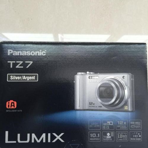 Hurry! PANASONIC TZ7 LUMIX Compact Digital Camera for