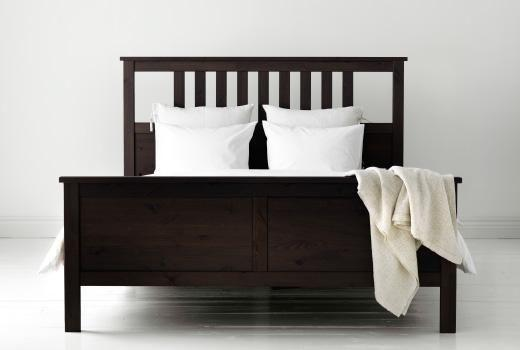 Ikea bed frame and 2 memory foam mattresses + washable
