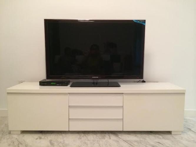 Ikea Besta Burs Tv Console White For Sale In Balestier Road