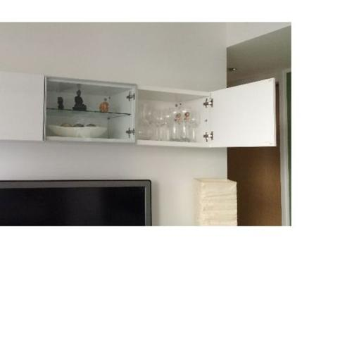 Ikea Besta Wall Cabinet Wall Mount With Glass Door For Sale In
