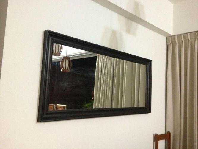Ikea Black Full length mirror