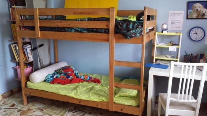 Ikea children bunk bed - good condition