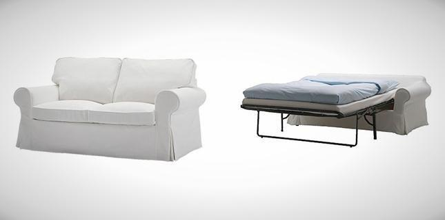Ikea Ektorp Two Seat Sofa Bed White For Sale In Lorong 1 Toa