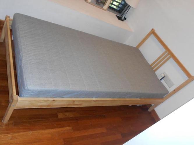 Ikea Fjellse Bed and Jomna Mattress - very good