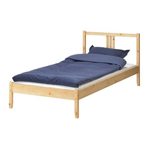 IKEA FJELLSE bed frame and RAST bedside table FOR SALE
