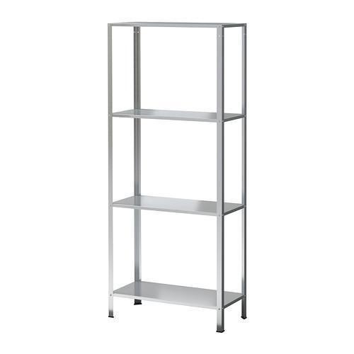 IKEA HYLLIS Shelving unit, in/outdoor galvanised