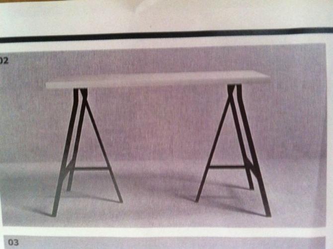 Ikea Linnmon Vika Lerberg Table Top For Sale In Yishun Street 61