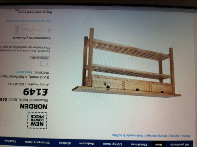 Ikea Norden Occasional Table Birch For Sale In Kallang Road Central Singapore Classified Singaporelisted Com