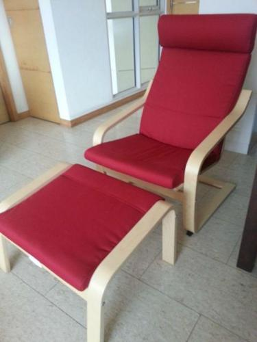 Terrific Ikea Rocking Chair With Footstool For Sale In Paya Lebar Machost Co Dining Chair Design Ideas Machostcouk