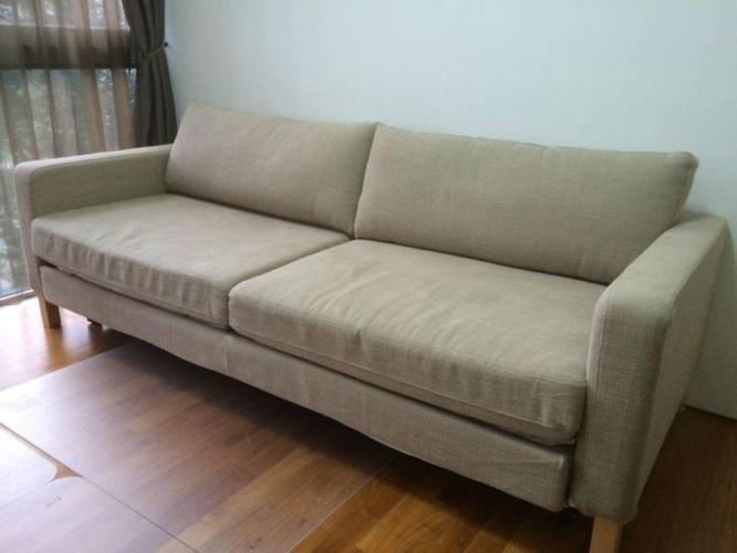 Ikea sofa bed with storage exelent condition pet and