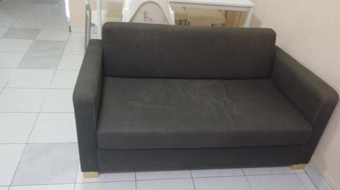 IKEA SOLSTA Two-seat sofa-bed(Ransta dark grey) for 50$