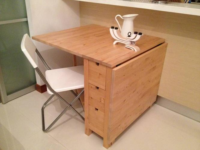 Ikea swedish norden gateleg table for sale in marina for Table norden ikea
