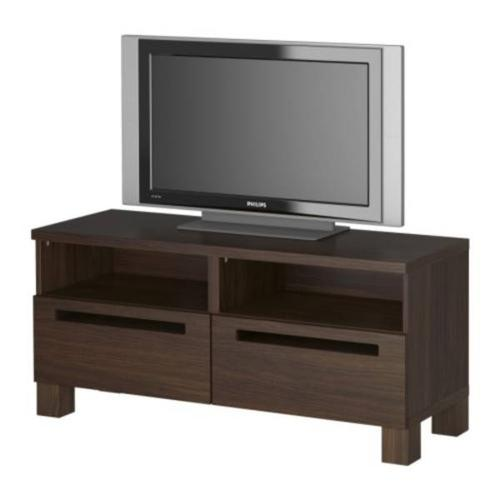 Ikea Tv Cabinet Walnut Effect Side Table Free With