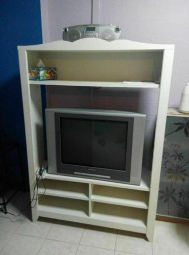 ikea white hensvik tv unit