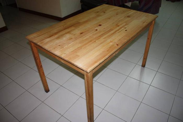 Ikea wooden table for sale in youngberg terrace northeast for 1 youngberg terrace avon park