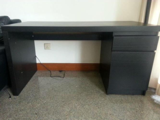 IKEA Wooden Table with Storage for sale