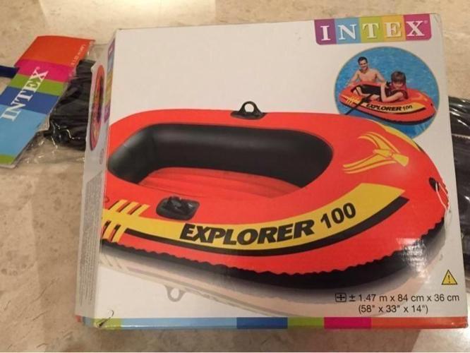 Intex Rubber Boat & Oars