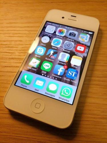 iphone 4S 32GB White - USED